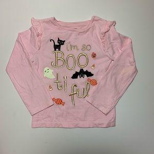 Gymboree Pink Boo-tiful Halloween Long Sleeve Tee